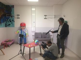 Pour aider les enfants à accepter l'hôpital...